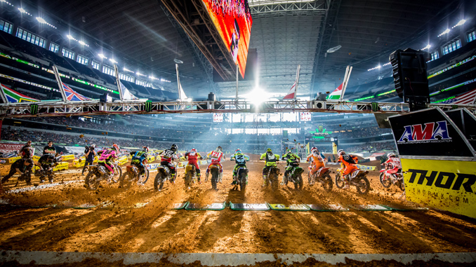 Feld Motor Sports - SX Supercross Photo for Release