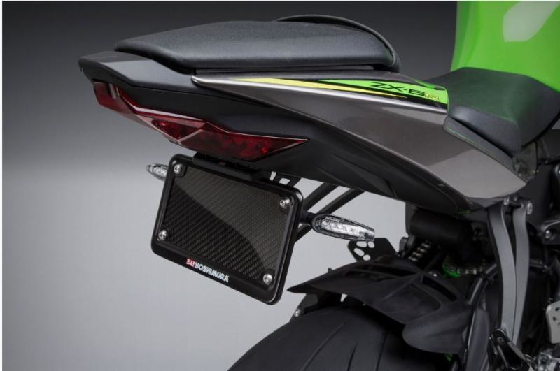 2019 Kawasaki ZX-6R Fender Eliminator Kit (shown with Yoshimura LED turn signals)
