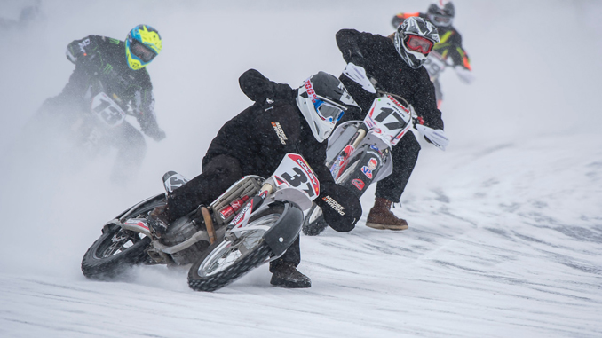 2018 AMA Ice Race National Championship (credit- Mike Barton)