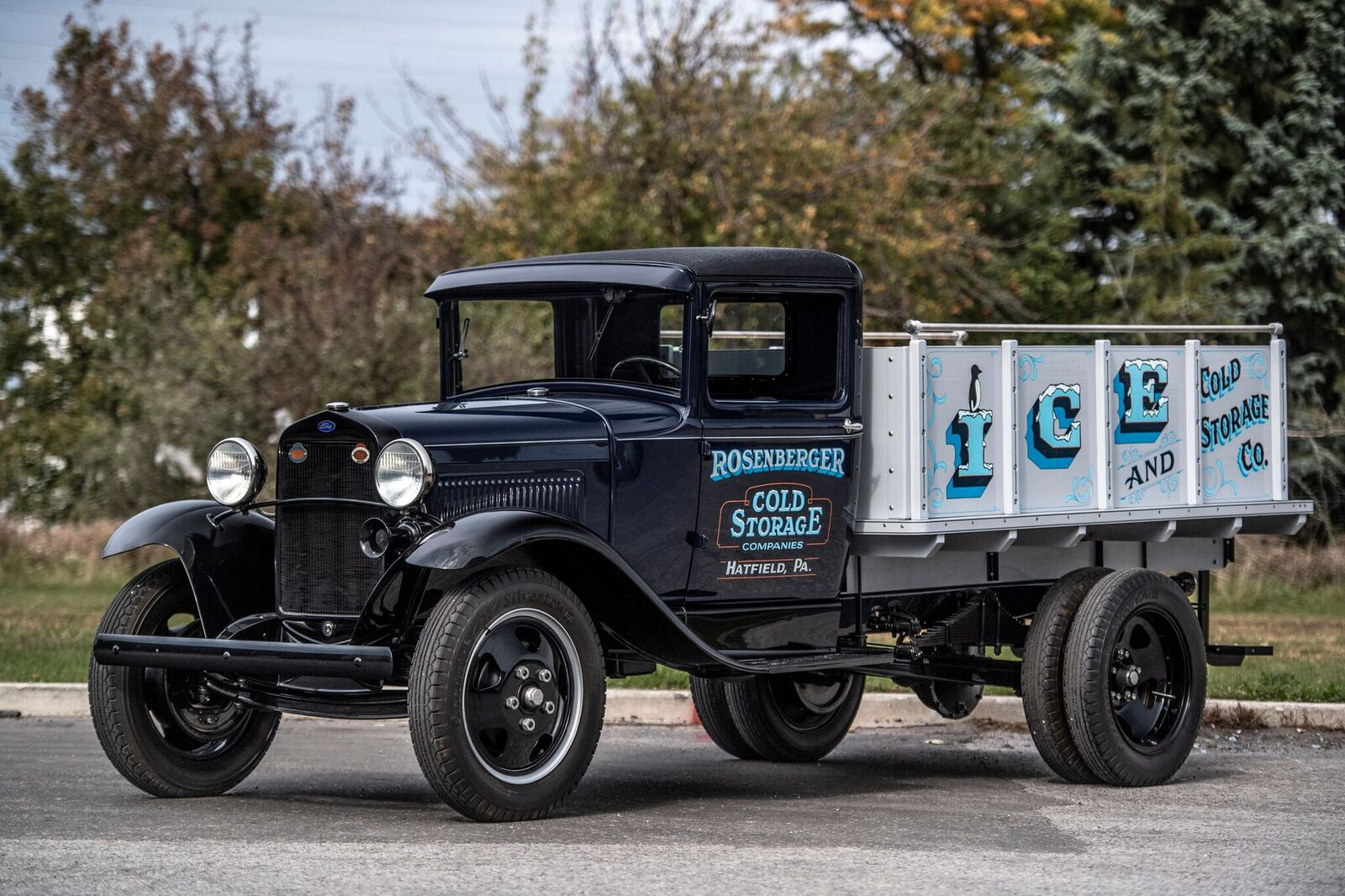 1930 Ford Model AA Ice Truck - Barrett-Jackson Scottsdale