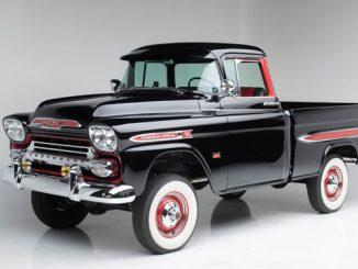 1959 Chevrolet 3100 Apache Pickup - Barrett-Jackson Scottsdale