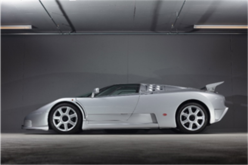 1994 Bugatti EB110 SS (Peter Singhof © 2018 Courtesy of RM Sotheby's)