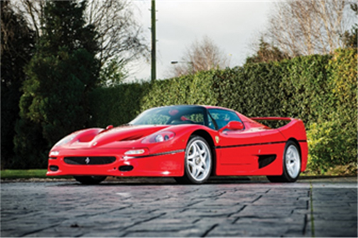 1996 Ferrari F50 (Courtesy of RM Sotheby's)