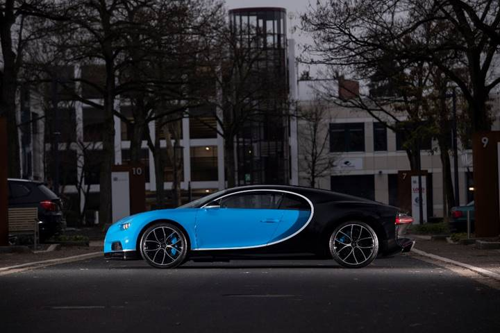 2017 Bugatti Chiron (Dirk de Jager © 2018 Courtesy of RM Sotheby's)