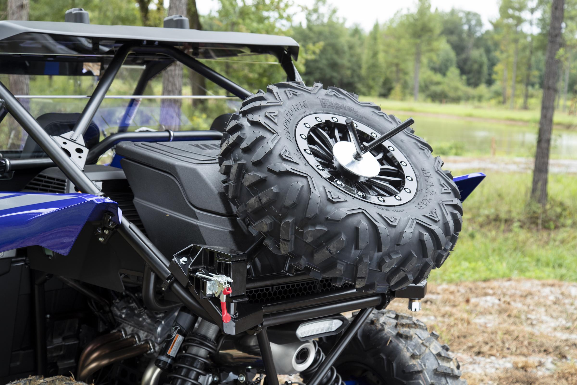 2019 Yamaha YXZ1000R SS SE - GYTR Spare Tire Carrier [1]