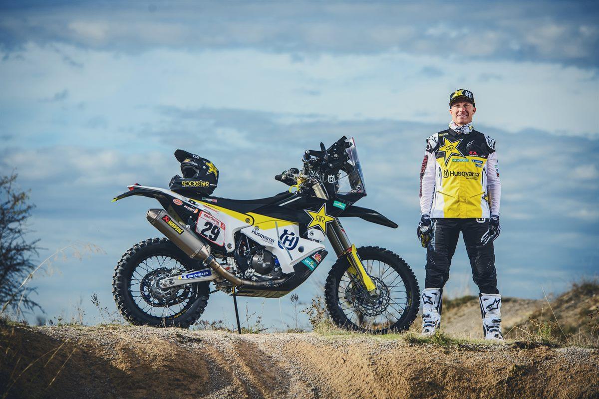 Andrew Short - Rockstar Energy Husqvarna Factory Racing - Dakar Rally