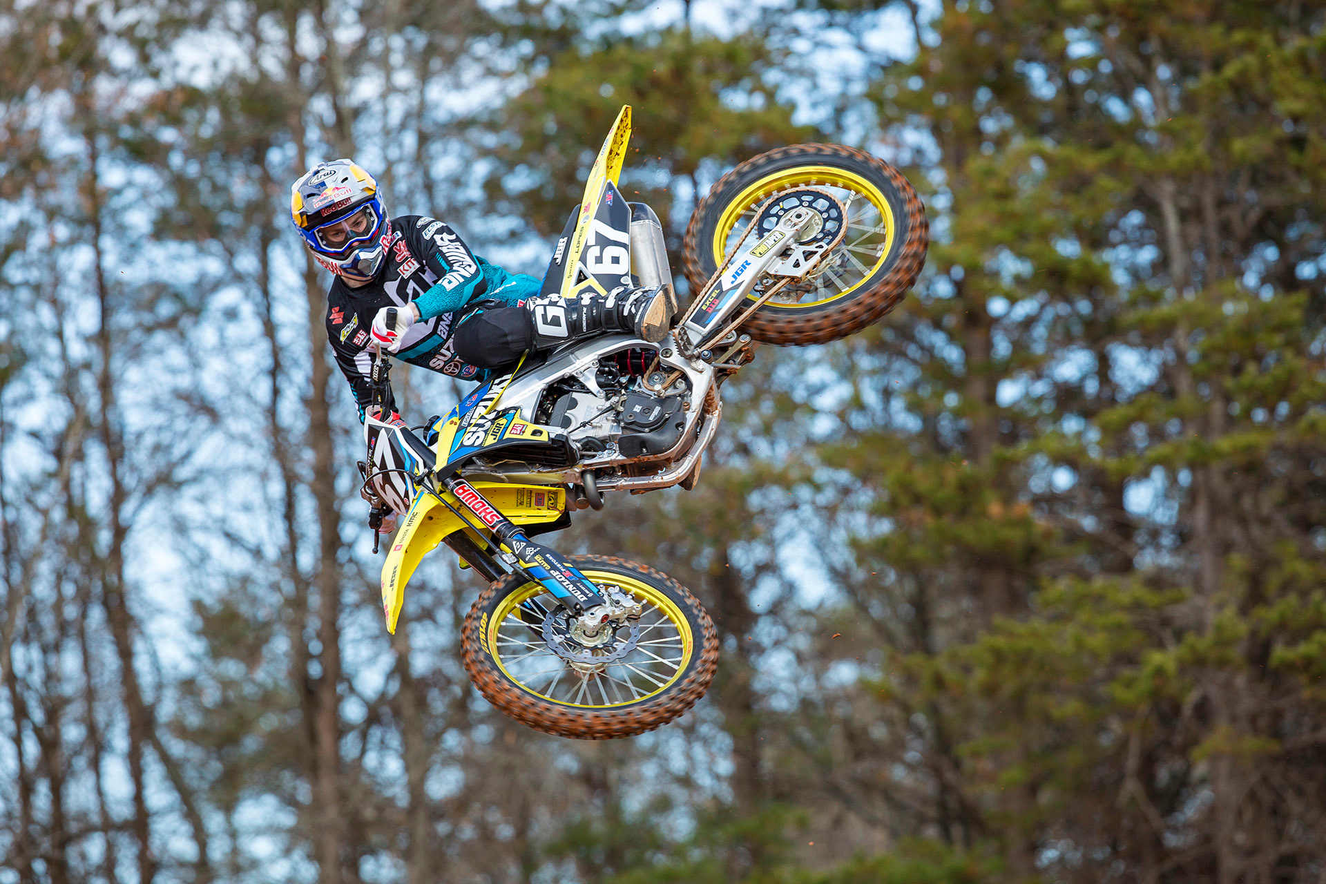 Brazil's Enzo Lopes (#67) is also on the new RM-Z250 - JGRMX