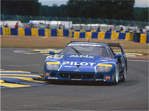 Chassis no. 74045 at the 1995 24 Hours of Le Mans where it finished 12th overall (Courtesy of Motorsport Images)