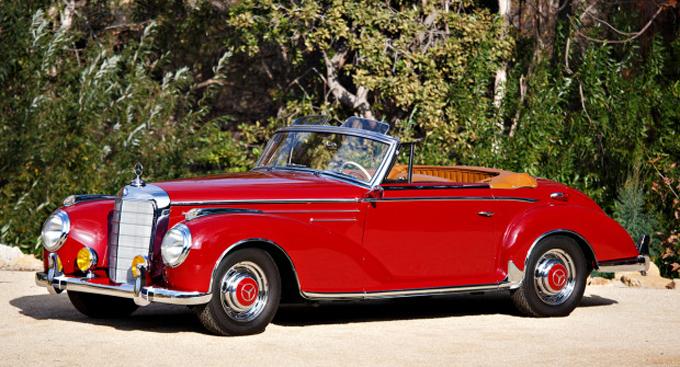 Gooding & Company Scottsdale - 1956 Mercedes-Benz 300 Sc Roadster