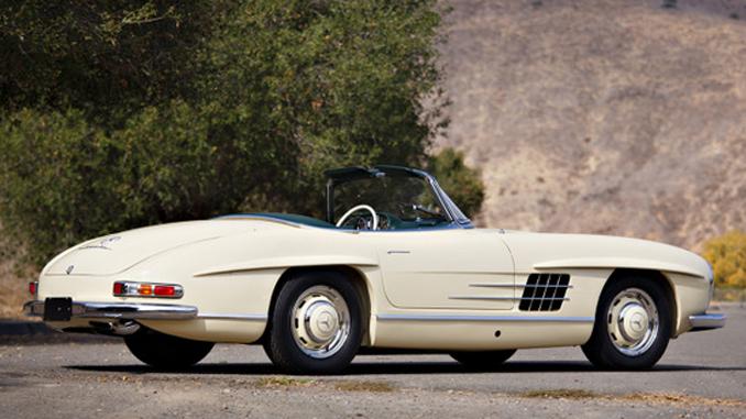 Gooding & Company Scottsdale - 1957 Mercedes-Benz 300 SL Roadster