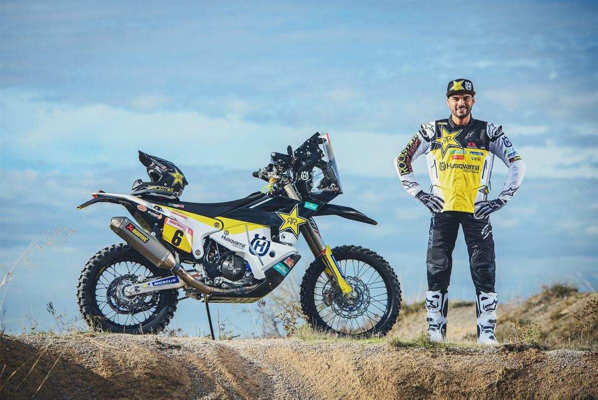 Pablo Quintanilla – Rockstar Energy Husqvarna Factory Racing - Dakar Rally