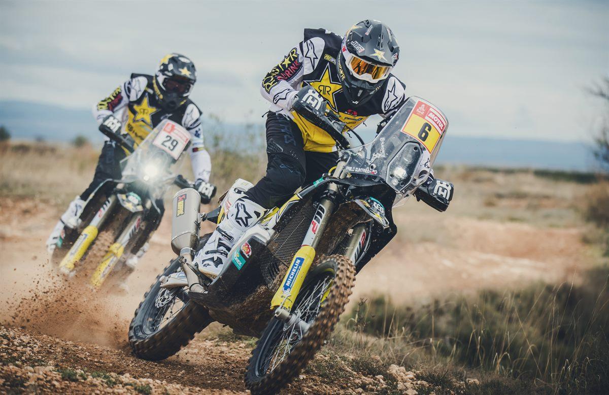 Pablo Quintanilla & Andrew Short – Rockstar Energy Husqvarna Factory Racing - Dakar Rally