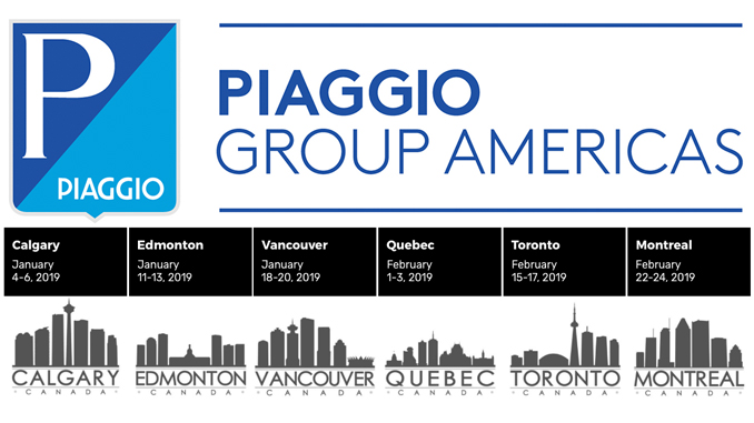 Piaggio Group CAN-shows