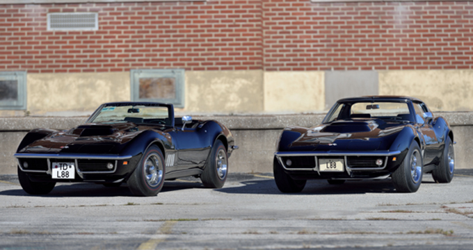 The 1969 L88 Corvette Offering Two Tuxedo Black L88s Sold as a Pair (Lot F151) - Mecum Kissimmee 2019