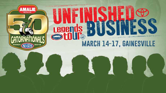 "NHRA Announces ""Unfinished Business"" Competition Featuring Drag Racing Legends"