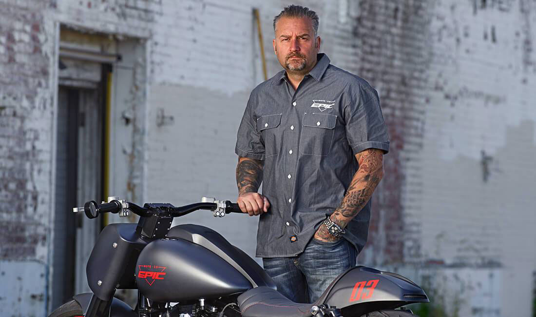 Tucker Adds Epic Moto Co. V-twin Parts and Accessories - Chris Elder