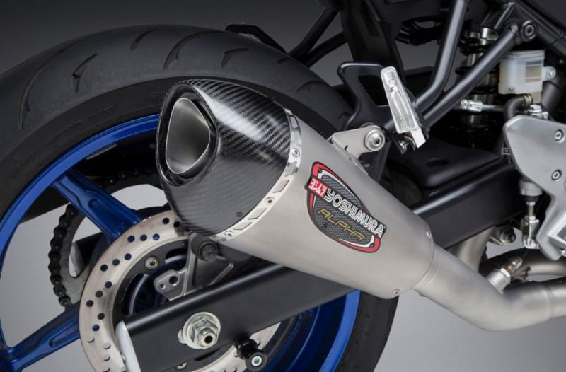 2018 Suzuki SV 650 with Yoshimura Alpha T Race Series SS-SS-CF WF