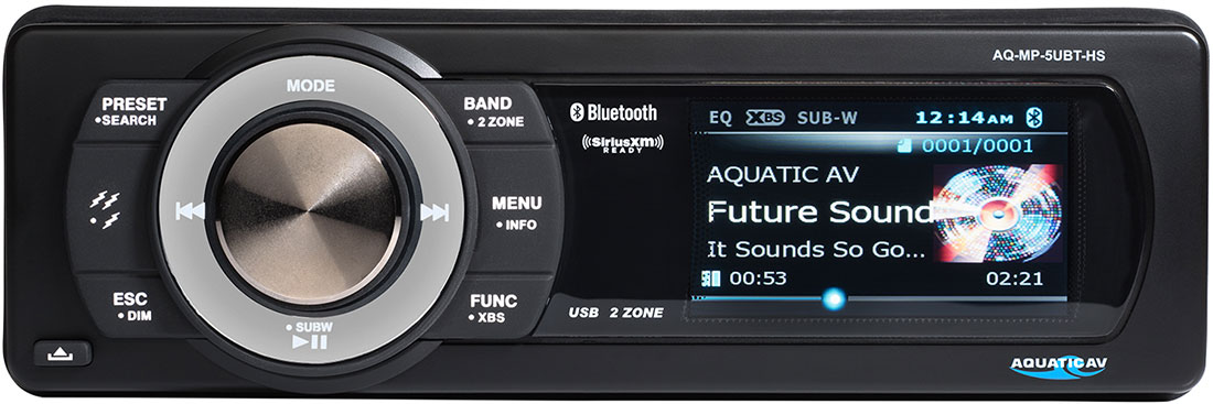 Tucker to Distribute Aquatic AV Audio Products - AQ-MP-5UBT