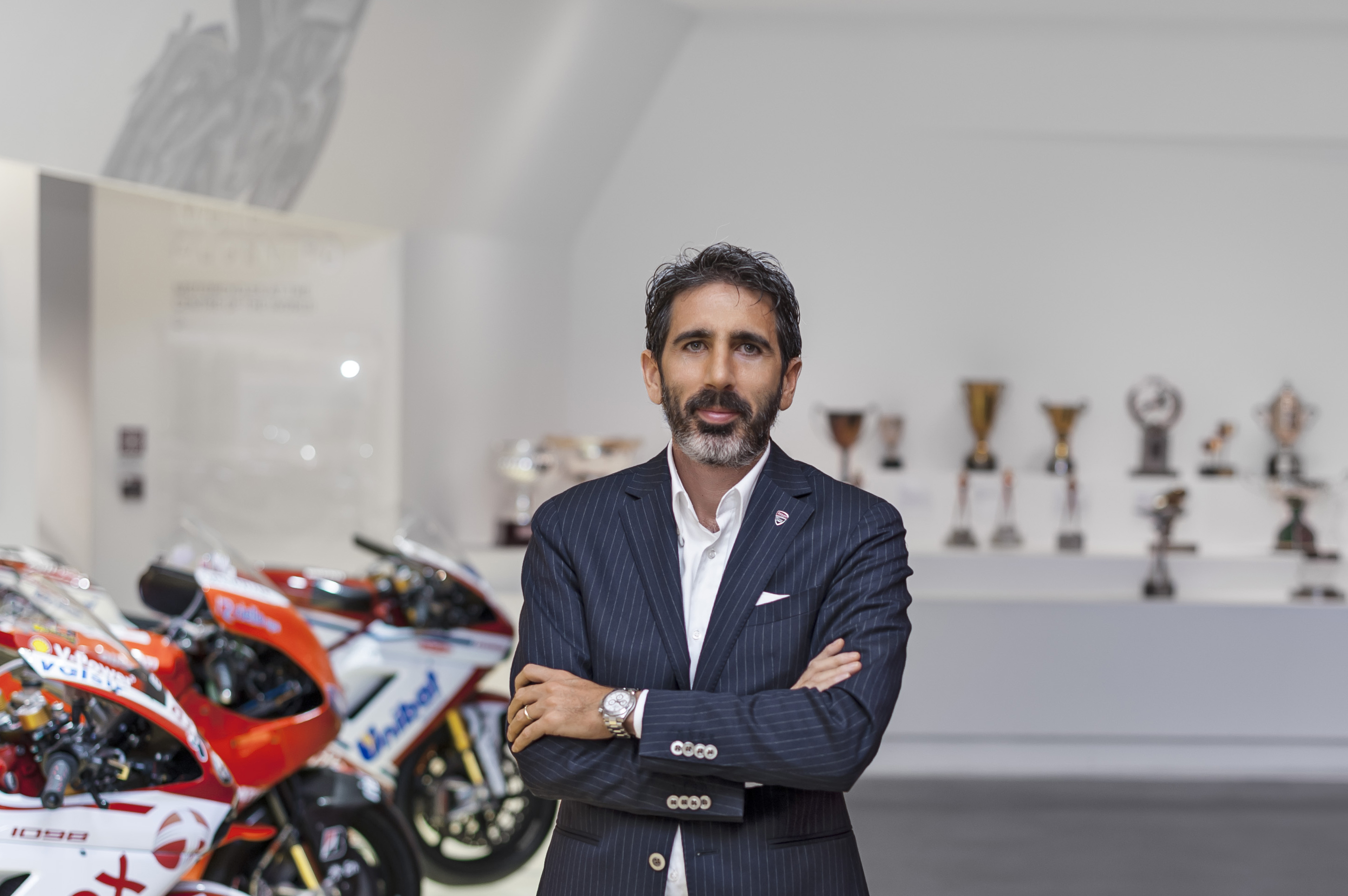 Francesco Milicia, Director Global Sales and After Sales Ducati Motor Holding