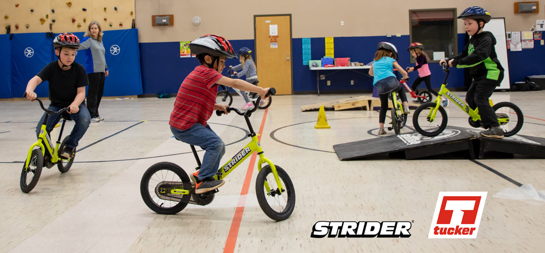 Tucker Announces Strider Adopt-A-School Program
