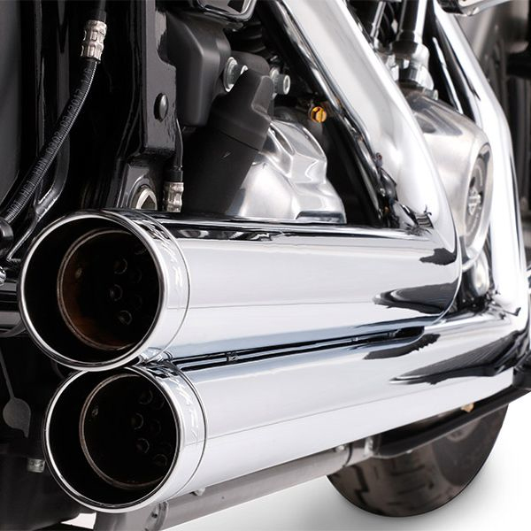 Rinehart Racing - 2-Into-2 Exhaust - Harley-Davidson Milwaukee-Eight Softail Models