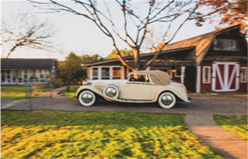 1934 Rolls-Royce Phantom II Continental Close-Coupled Saloon by Barker (Darin Schnabel ©2018 Courtesy of RM Sotheby's) RM Sotheby's Amelia Island
