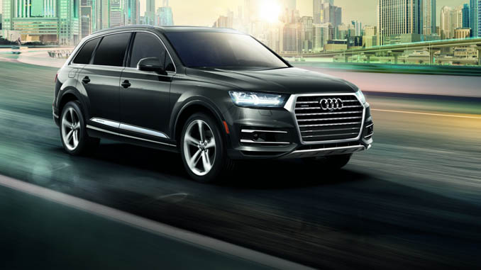 audi q7 earns 2019 car and driver 10best truck suv of the year. Black Bedroom Furniture Sets. Home Design Ideas