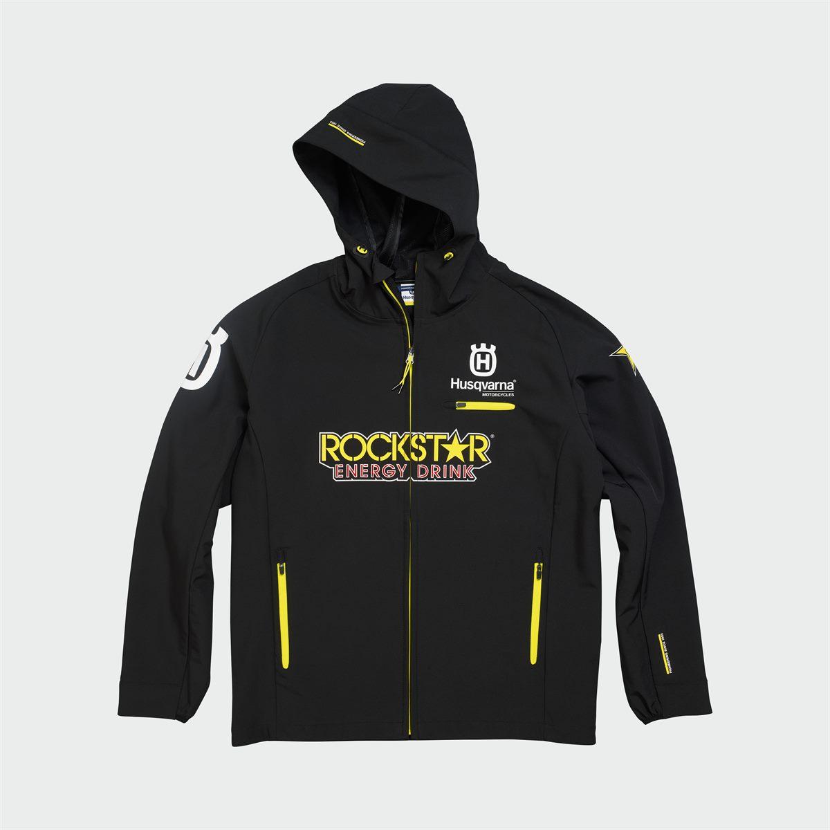 2019 Rockstar Energy Husqvarna Factory Racing Casual Clothing Collection - RS REPLICA HARDSHELL JACKET