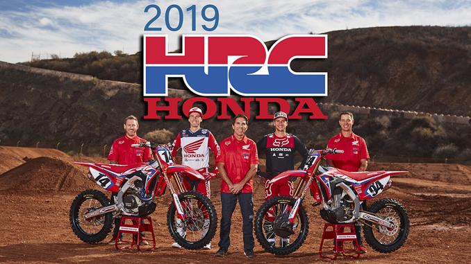 2019 Team Honda HRC
