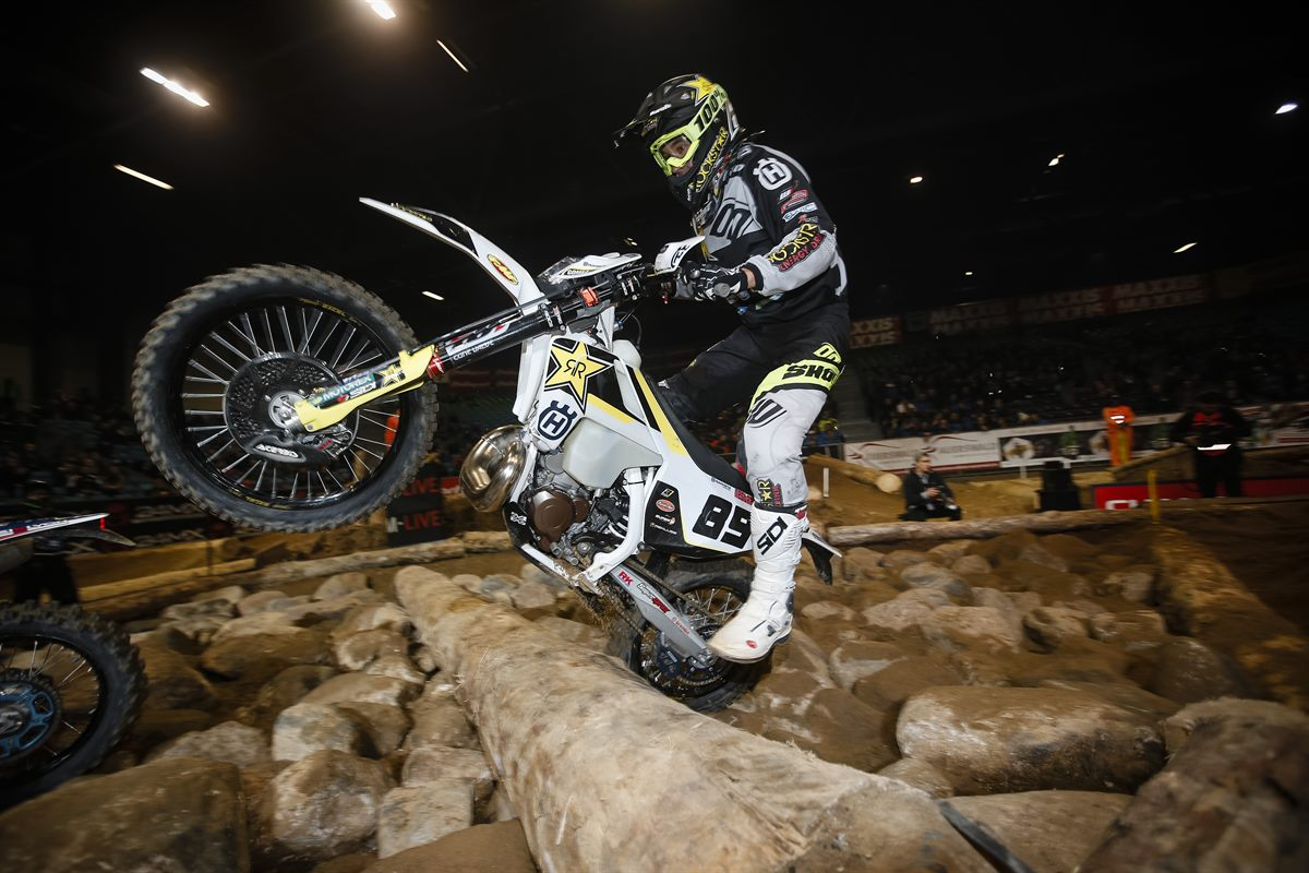 Alfredo Gomez - Rockstar Energy Husqvarna Factory Racing - SuperEnduro Germany