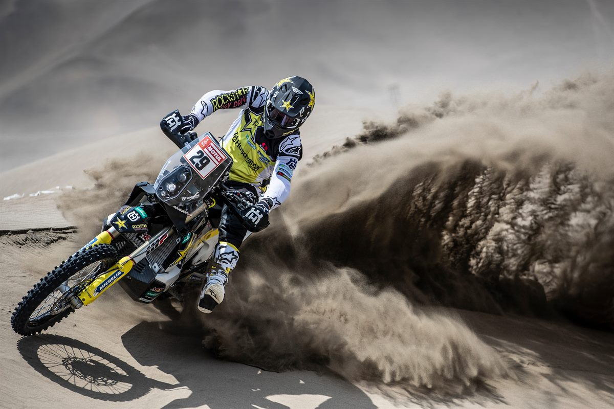 Andrew Short – Rockstar Energy Husqvarna Factory Racing - Dakar Rally - Stage 1