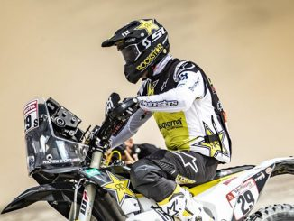 Andrew Short – Rockstar Energy Husqvarna Factory Racing - Dakar Rally - Stage 2
