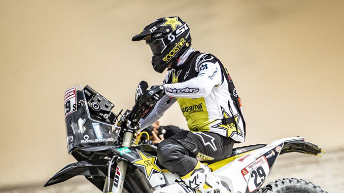 Andrew Short – Rockstar Energy Husqvarna Factory Racing - Dakar Rally - Stage 2