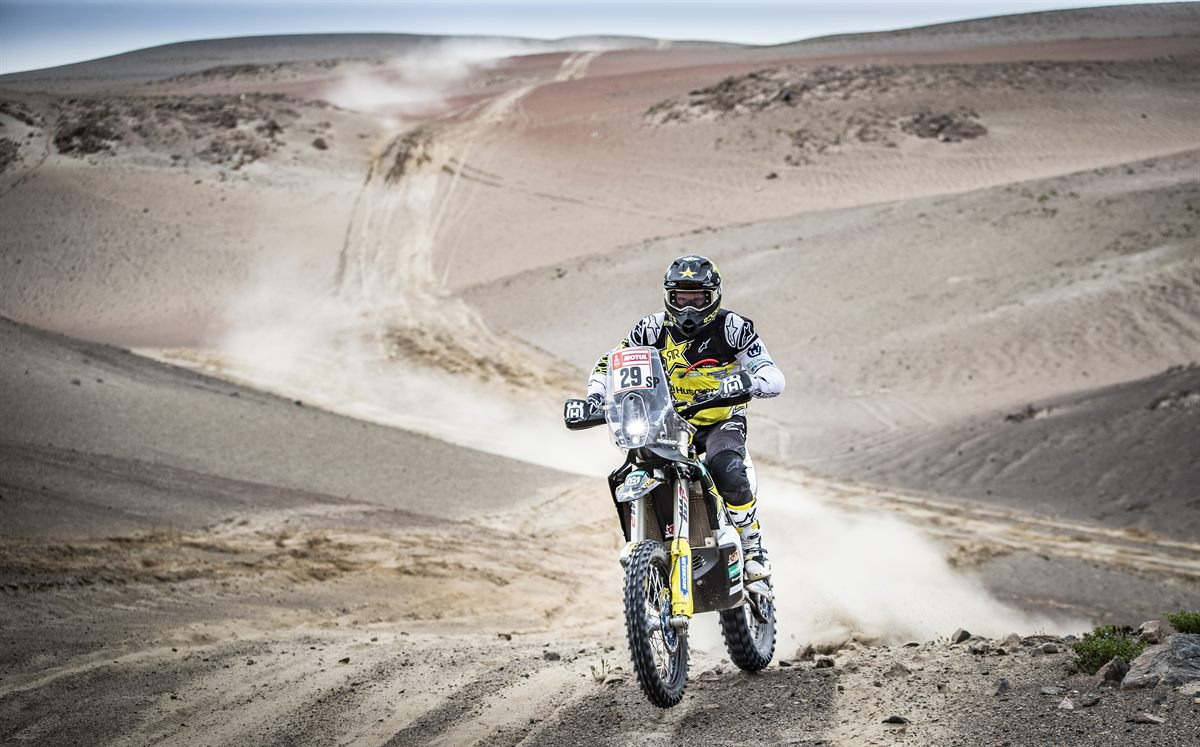 Andrew Short – Rockstar Energy Husqvarna Factory Racing - Dakar Rally - Stage 3