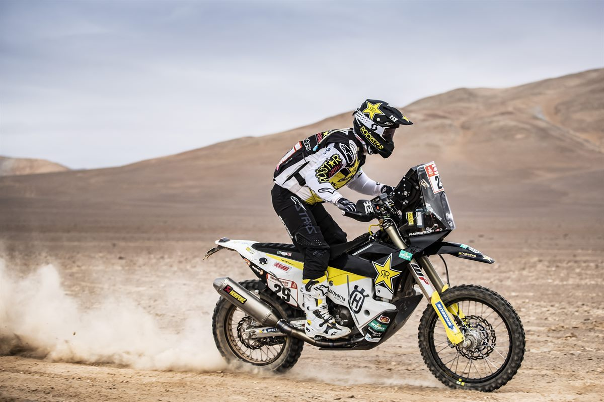 Andrew Short – Rockstar Energy Husqvarna Factory Racing - Dakar Rally - Stage 4
