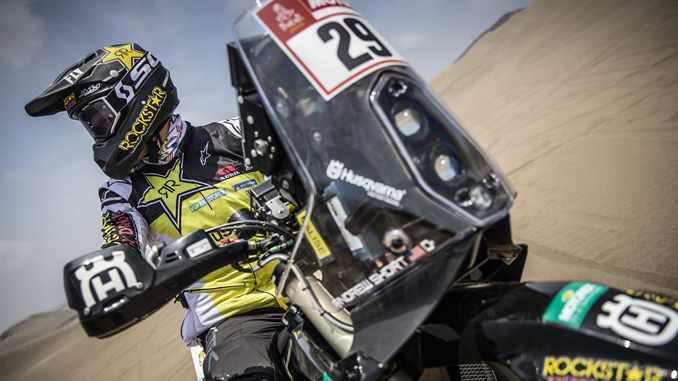 Andrew Short – Rockstar Energy Husqvarna Factory Racing - Dakar Rally - Stage 5