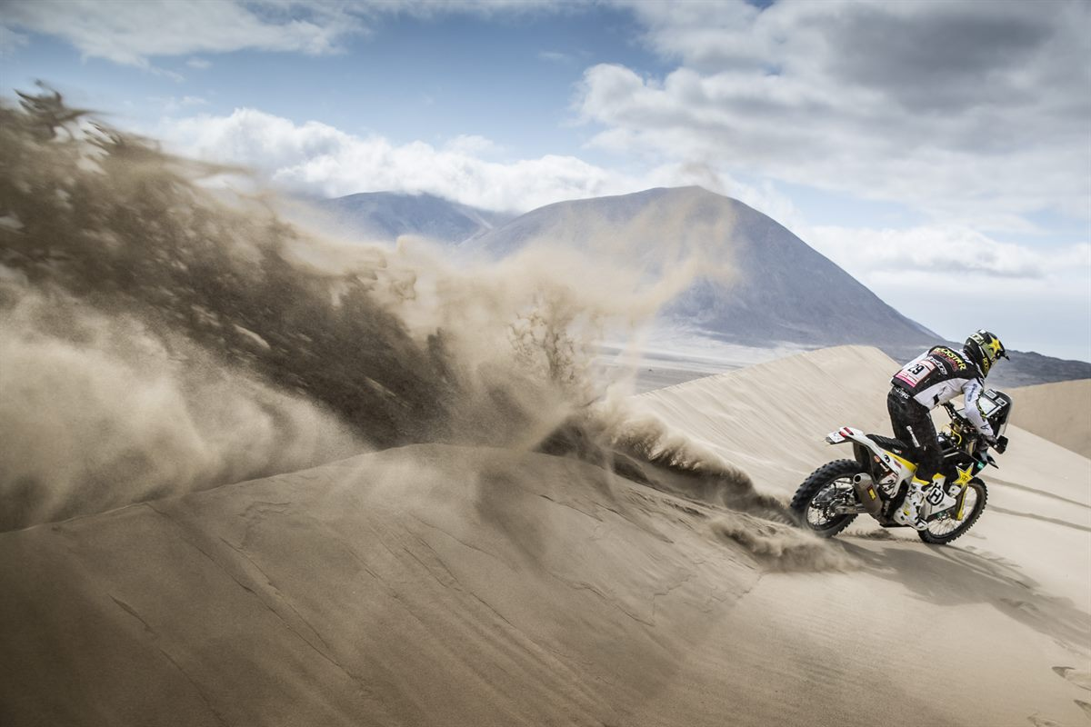 Andrew Short – Rockstar Energy Husqvarna Factory Racing - Dakar Rally - Stage 6
