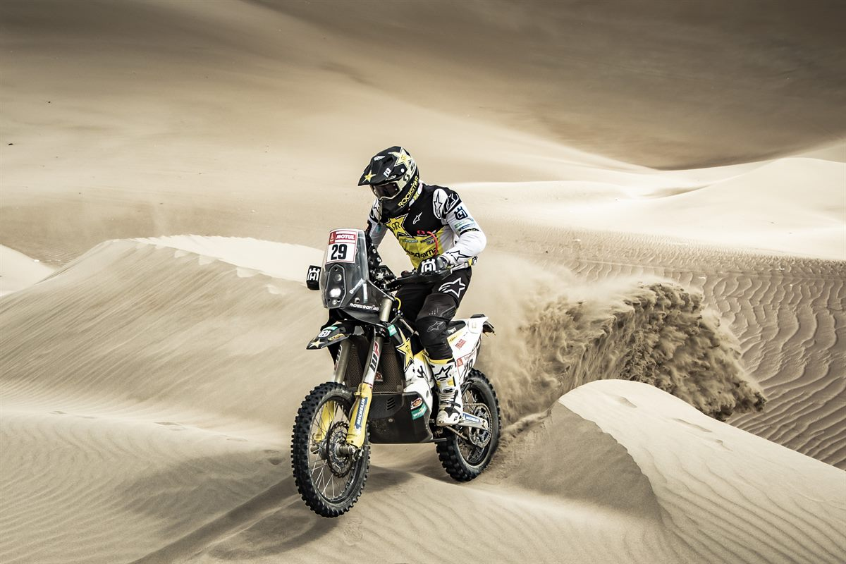 Andrew Short – Rockstar Energy Husqvarna Factory Racing - Dakar Rally - Stage 8