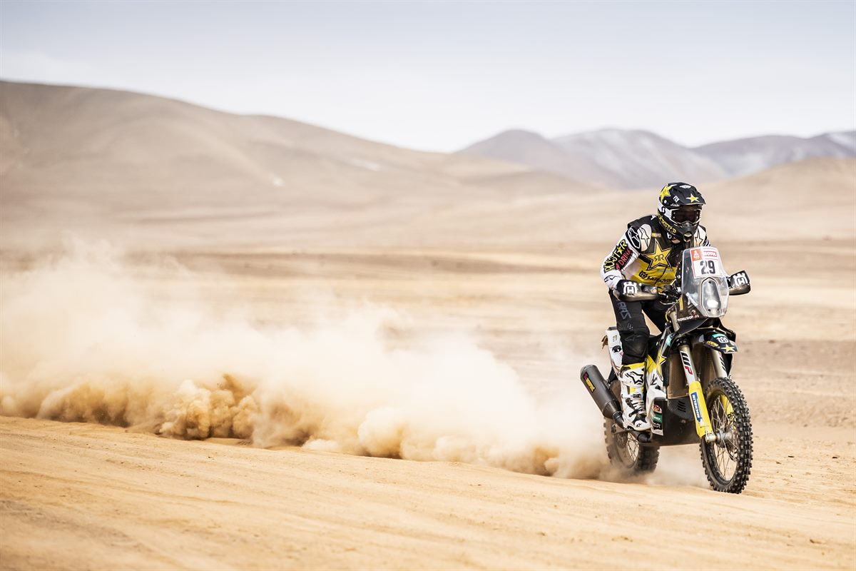 Andrew Short – Rockstar Energy Husqvarna Factory Racing - Dakar Rally - Stage 9