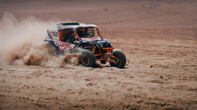 Can-Am Maverick X3 - Dakar Rally - Francisco Chaleco Lopez