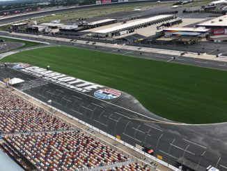 Charlotte Motor Speedway Unveils Finished IRONTURF Synthetic Turf