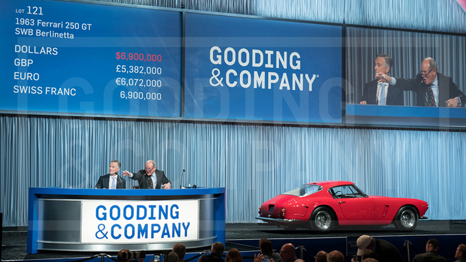Gooding & Company Leads the Pack with Another Successful Auction in Scottsdale With $48.2 Million Sold