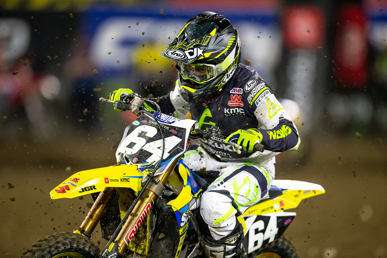 Jimmy Decotis - JGRMX-Yoshimura-Suzuki Factory Racing Team - Anaheim 2