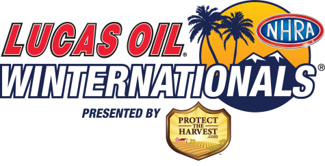 Lucas Oil NHRA Winternationals logo
