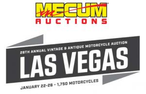 Mecum Auctions - Vintage Motorcycle Auction