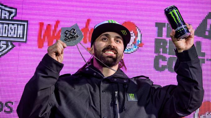Monster Energy's Brett Turcotte Takes Silver in Snowmobile Freestyle at X Games Aspen 2019