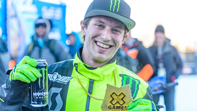 Monster Energy - Cody Matechuk Takes Gold in Snow BikeCross at X Games Aspen 2019