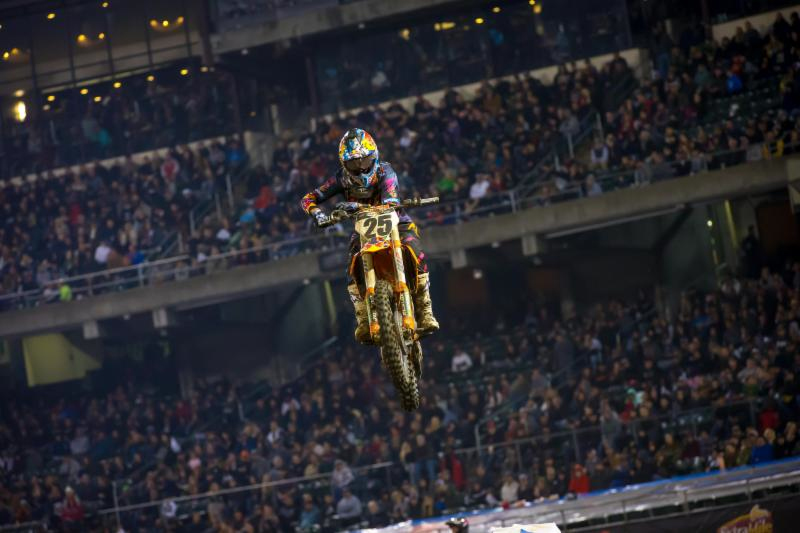 Monster Energy Supercross - Marvin Musquin riding to form after a slow start to the season