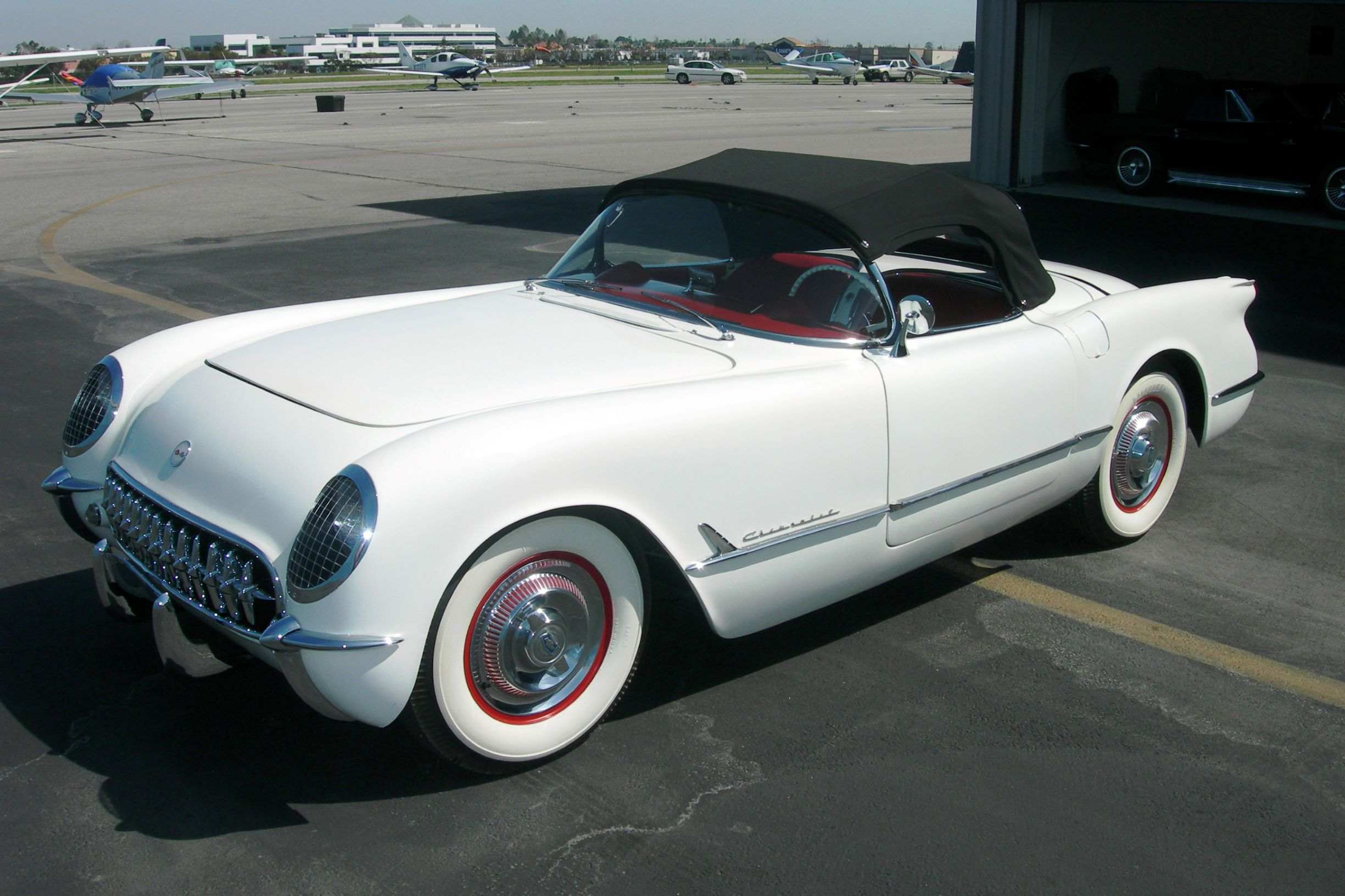 NASCAR's Mark Martin this 1953 Chevrolet Corvette Convertible - Barrett-Jackson Scottsdale