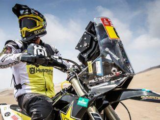 Pablo Quintanilla – Rockstar Energy Husqvarna Factory Racing - Dakar Rally - Stage 1